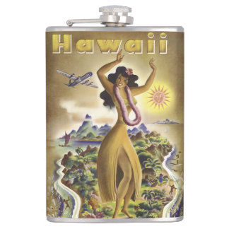 Vintage Hawaii 2 Flask