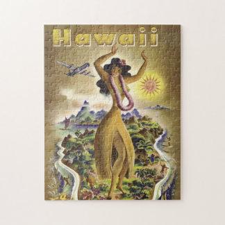 Vintage Hawaii 2 Jigsaw Puzzle