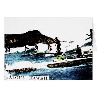 Vintage Hawaii Card