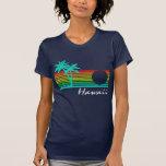 Vintage Hawaii - diseño apenado Camisetas