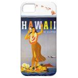 Vintage Hawaii Hula Art Hawaiian Islands Map iPhone 5 Cases