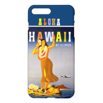 Vintage Hawaii Hula Dancer iPhone 7 Plus Case