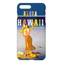 Vintage Hawaii Hula Dancer iPhone 8 Plus/7 Plus Case