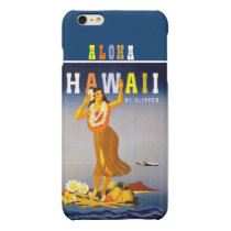 Vintage Hawaii Hula Dancer Matte iPhone 6 Plus Case
