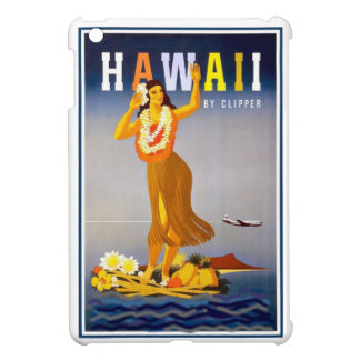 Vintage Hawaii Hula Girl iPad Mini Case