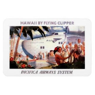 Vintage Hawaii, los E.E.U.U. - Imanes De Vinilo