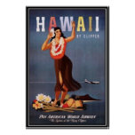 Vintage Hawaii, los E.E.U.U. - Poster