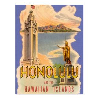 Vintage Hawaii, los E.E.U.U. - Tarjetas Postales