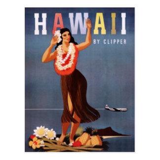 Vintage Hawaii, los E.E.U.U. - Tarjeta Postal
