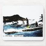 Vintage Hawaii Mouse Pads