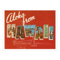 Vintage Hawaii Post Card