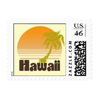 Vintage Hawaii Stamp