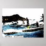 Vintage Hawaii Print