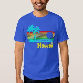 vintage Hawaii retra de los años 80 Playeras