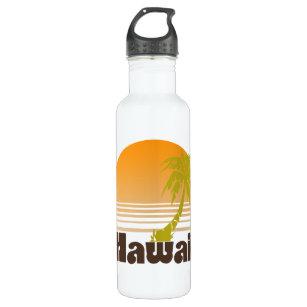 Vintage Hawaii Stainless Steel Water Bottle