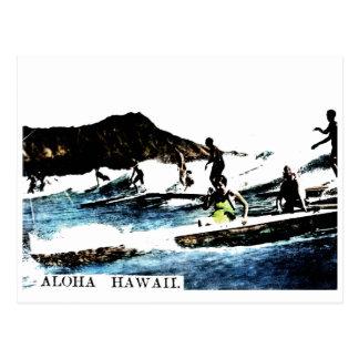 Vintage Hawaii Tarjeta Postal