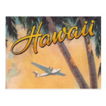 Vintage Hawaii Travel Post Card