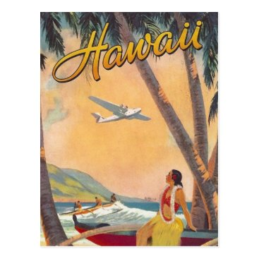 hizli_art Vintage Hawaii Travel Postcard