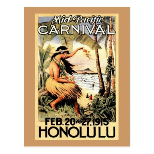 Vintage Hawaii, USA - Postcards