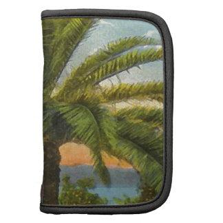 Vintage Hawaiian Palm Tree Planner