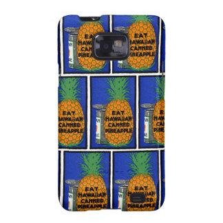 Vintage Hawaiian Pineapple Galaxy SII Cover