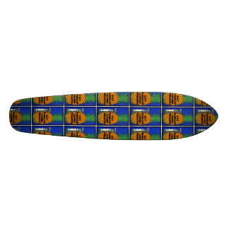 Vintage Hawaiian Pineapple Skateboard