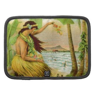 Vintage Hawaiian Travel Organizers