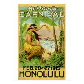 Vintage Hawaiian Travel Post Cards