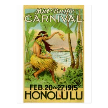 hizli_art Vintage Hawaiian Travel Postcard