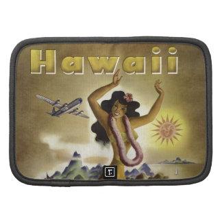 Vintage Hawaiian Travel Poster Organizer
