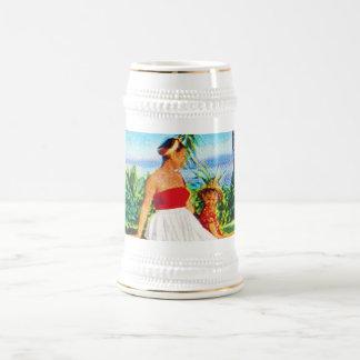 Vintage Hawaiian Vacation Beer Stein