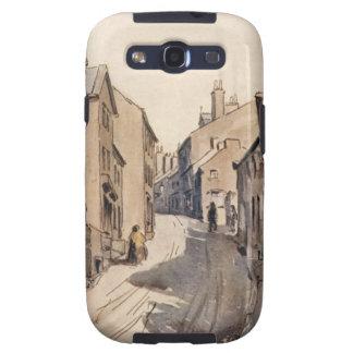 Vintage Haworth West Yorkshire England Bronte Samsung Galaxy SIII Cases