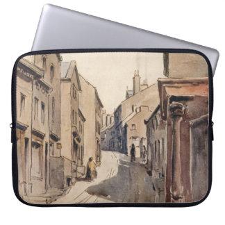 Vintage Haworth West Yorkshire England Bronte Laptop Sleeve