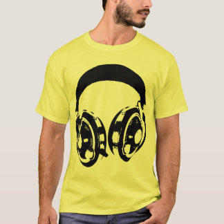 Vintage Headphones T-Shirt