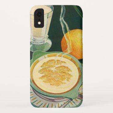 Vintage Health Foods, Beverages, Healthy Breakfast iPhone XR Case