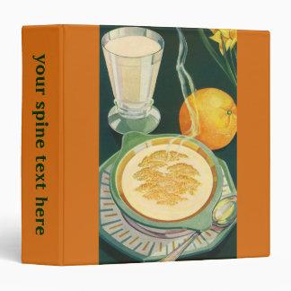 Vintage Health Foods, Beverages, Healthy Breakfast Vinyl Binders