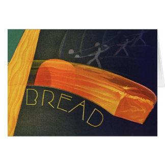 Vintage Healthy Foods, Whole Grain Wheat Bread Card