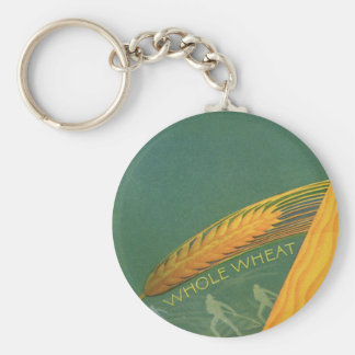 Vintage Healthy Foods, Whole Grain Wheat Bread Keychain