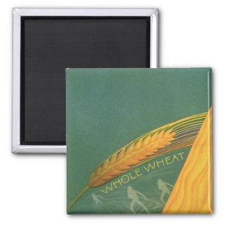 Vintage Healthy Foods, Whole Grain Wheat Bread Magnet