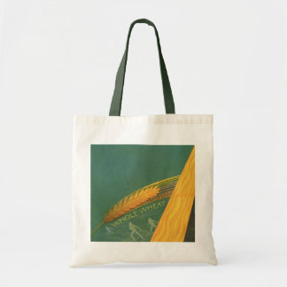 Vintage Healthy Foods, Whole Grain Wheat Bread Tote Bag