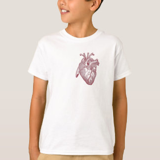Vintage heart anatomy Birthday Gifts Doctor T-Shirt