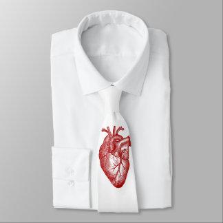 Vintage Heart Anatomy Tie