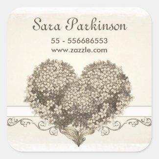vintage heart beautiful love sticker