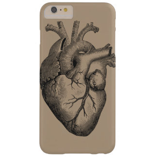 Vintage Heart Illustration Barely There iPhone 6 Plus Case