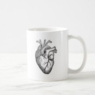 Vintage Heart Illustration Coffee Mug