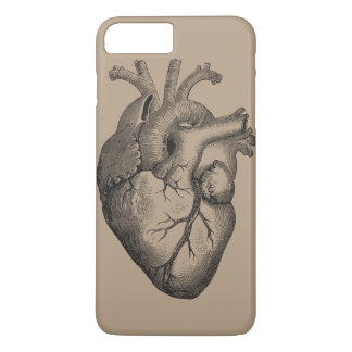 Vintage Heart Illustration iPhone 7 Plus Case