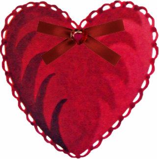 Vintage Heart Magnet