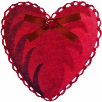 Vintage Heart Ornament