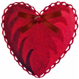 Vintage Heart Sculpture