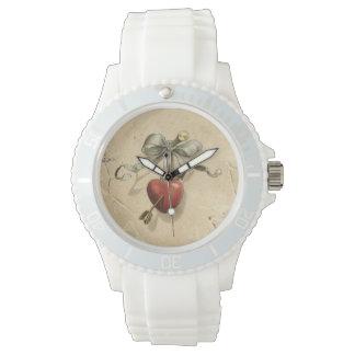 Vintage Heart Watch